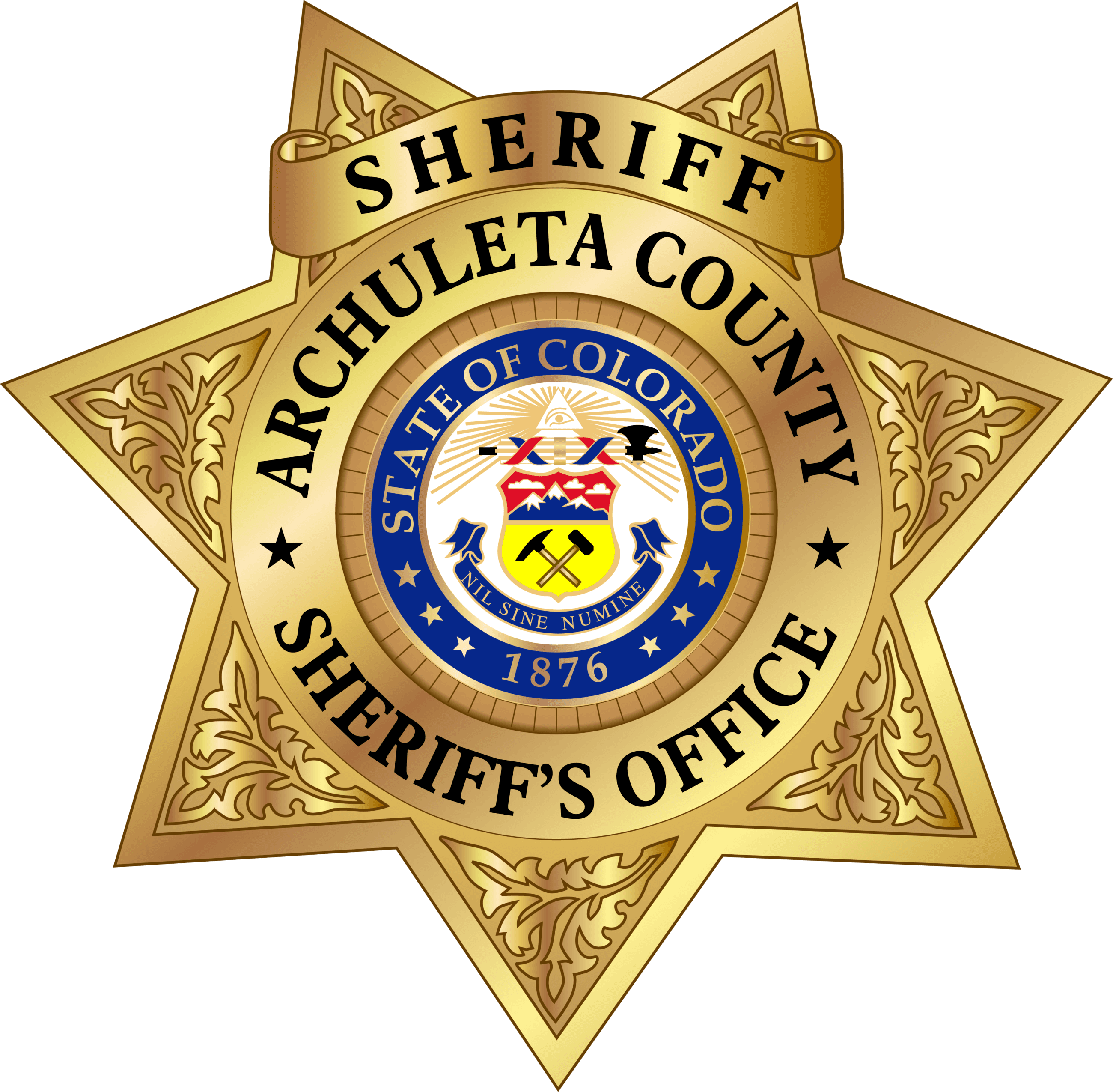 C-171405 Archuleta County Sheriff Badge Colorado